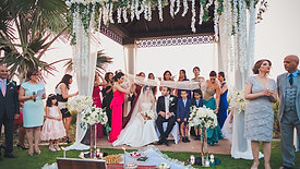 Persian Wedding at the Ritz Carlton Dubai.