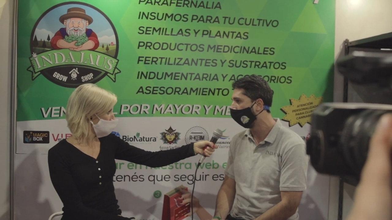 Expocannabis Uruguay 2020 Indajaus Grow - Parte 1
