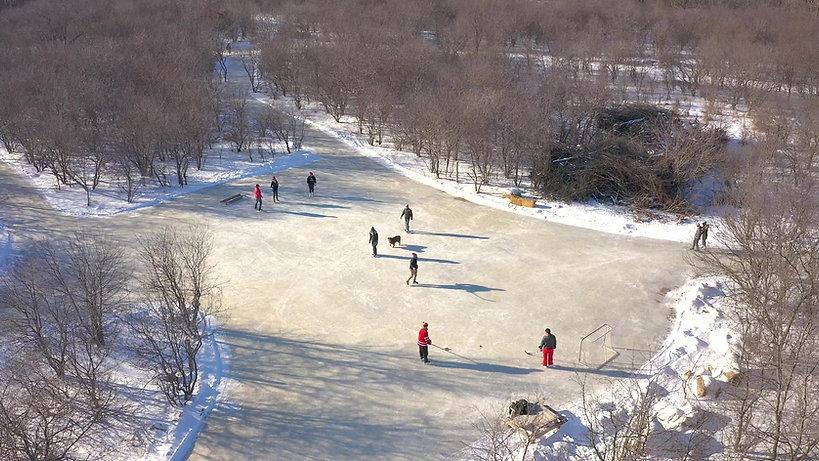 RiverOak Ottawa's Premiere Skating Trail