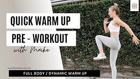 Warm up video