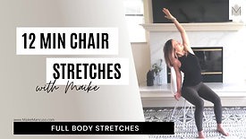 12 min seated stretches