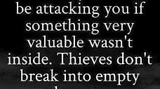 Value in being Attacked