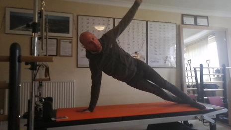 Pilates mat challenge