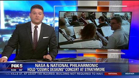 WTTG 1-26-18 Cosmic Designs Concert