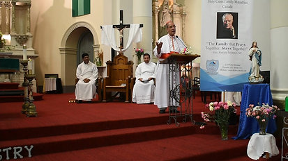 Blessing from Cardinal D'Rozario
