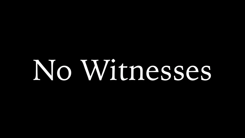 No Witnesses Trailer 2020