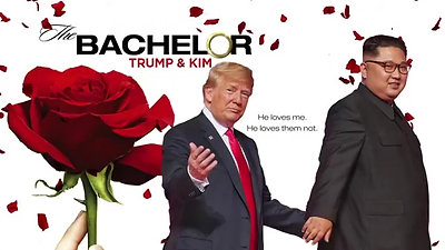 The Bachelor Trump & Kim