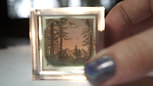 Mini Worlds (tiny illustration shadow boxes)