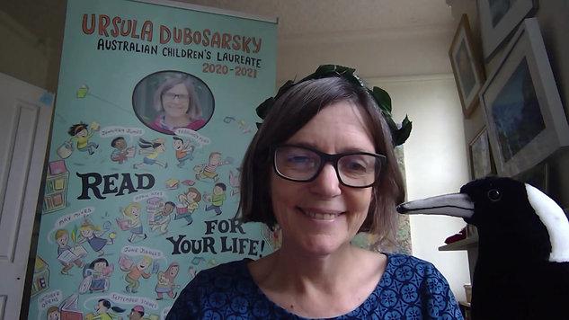 "Ursula Dubosarsky explains ""Read For Your Life"""