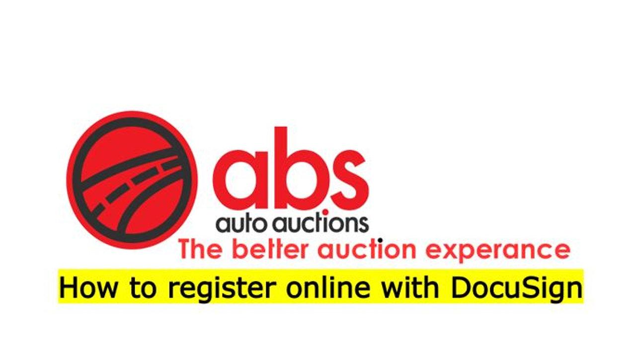 ABS Register Online