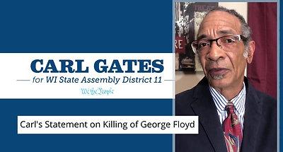Carl's Statement on Killing of George Floyd