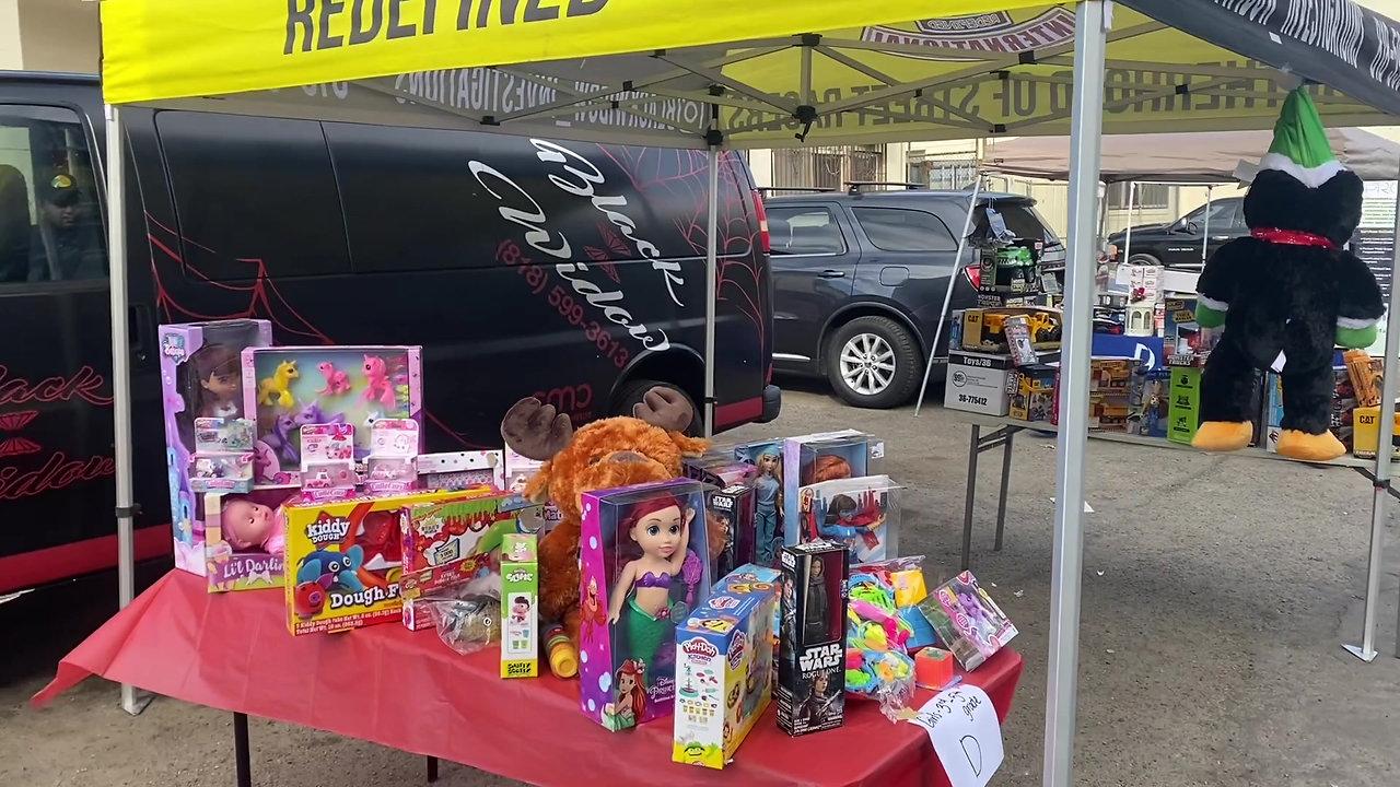 Drive Thru Toy Distribution