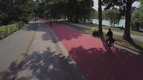 Fahrradstraße Münster Röhrig Granit