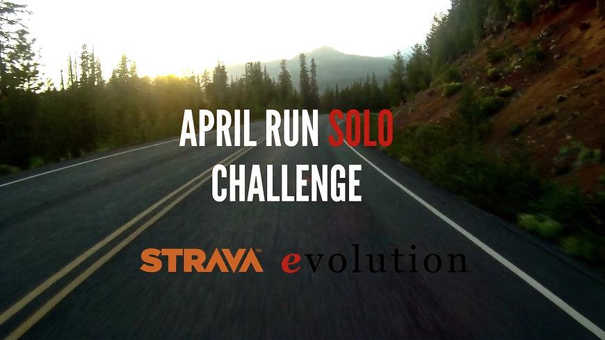 April Run Solo Challenge