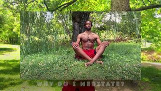 Why do I meditate?