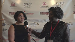 Belle Borders Red Carpet Interview