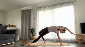 Yoga Express | Boost, Torsions et Instant Présent | Mini Flow + Mini Relaxation Guidée