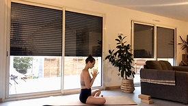 Yoga Express | Petite Routine du Soir. Un flow tout en douceur pour se détendre après la journée