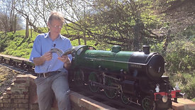 Peters Railway The Picnic read by Chris Vine beside the railway with Sausages - Rail Safety Week