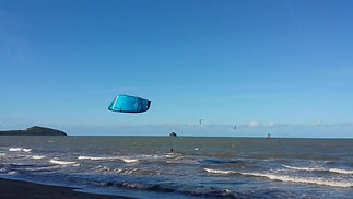 Time to kite in Palm Cove