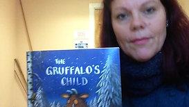 Elizabeth reading The Gruffalo's child