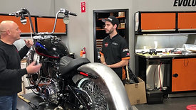 Motorcycle Minute - Battle of the Techs, Team 2 - 2019 Low Rider
