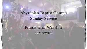 Praise and Worship 05/10/2020
