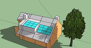ombre su impianto domestico
