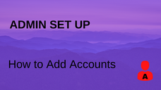How to Add Accounts