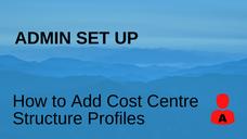 Cost Centre Structure Profile