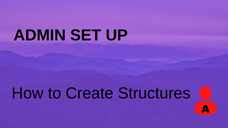 How to Create Structures
