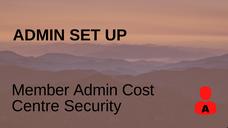 Member Admin CC Security
