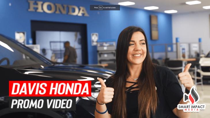 Davis Honda Promo Video