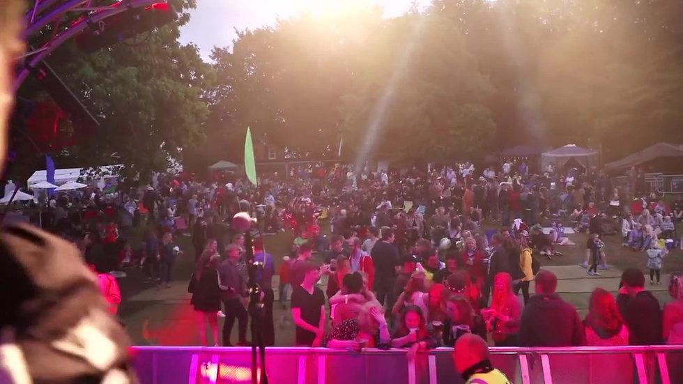Green Haze at Rock and Bowl Festival