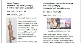 Are You Ready For Something New? Karma Tweenz Series Livestream Classes