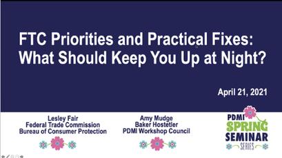 FTC Priorities and Practical Fixes (April 21, 2021)