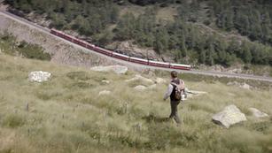 Graubuenden Tourismus- Wanderzeichen