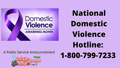 October is Natl Domestic Violence Awareness Month