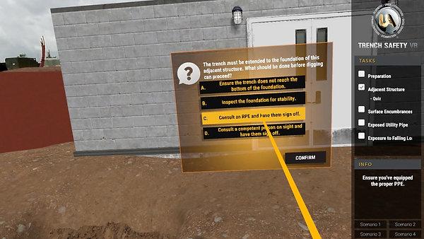 VR Trench Safety
