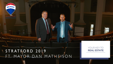 Mayor Dan Mathieson and The Community of Stratford, ON