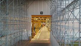 Túnel de escoramento provisório