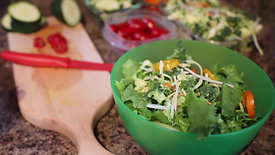 FF Salad making video