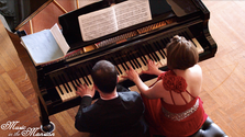 The Latsos Piano Duo plays Mendelssohn-Bartholdy's Andante & Allegro Brillant Op.92