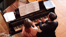 The Latsos Piano Duo plays Brahms' Hungarian Dance in A major, No. 7