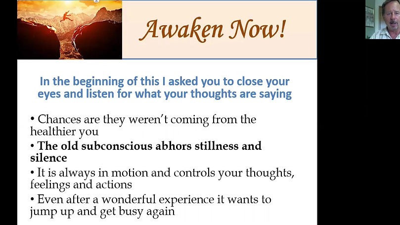 Awaken Now Video Program