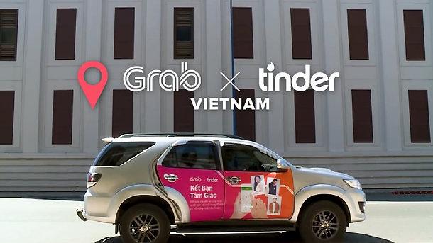 Grab x Tinder: It's A Match
