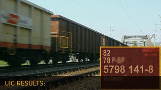 Software for railway code recognition