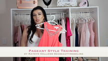 Pageant style training