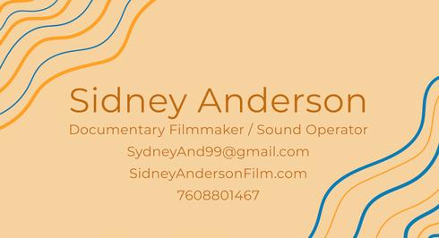 Sidney Anderson Generalist Reel