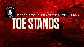 Deepen Your Practice: Toe Stands!